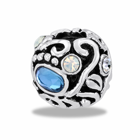 Davinci Beads Filigree CZ Globe 2
