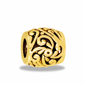 Davinci Beads Gold Filigree