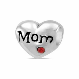 Davinci Beads Heart Mom