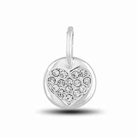 Davinci Beads Inspirations Crystal Heart Charm