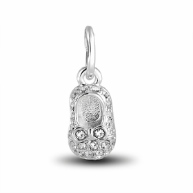 Davinci Beads Inspirations Crystal Slipper Charm