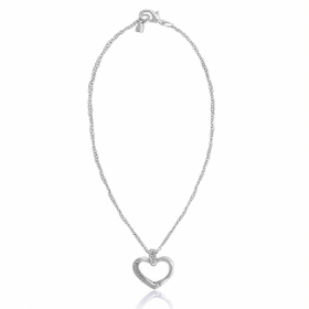 Davinci Beads Inspirations Heart Carabiner Necklace
