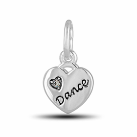 Davinci Beads Inspirations Heart Dance Charm