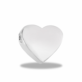 Davinci Beads Inspirations Heart Spacer Charm
