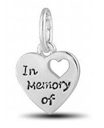 Davinci Beads Inspirations IN MEMORY OF Memorial Charm