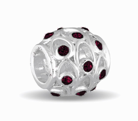 Davinci Beads January Crystal Orb Decorative