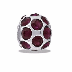Davinci Beads January  CZ Ball Birthstone