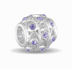 Davinci Beads June Crystal Orb Decorative