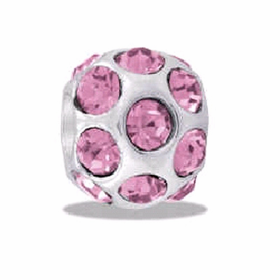 DAVINCI BEADS JUNE CZ BALL BIRTHSTONE