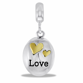 Davinci Beads Love Dangle