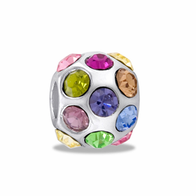 Davinci Beads Multi CZ Crystal Ball