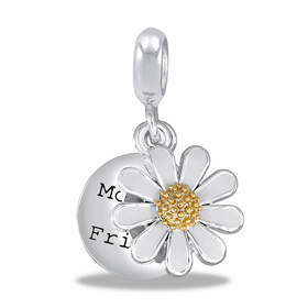 "Davinci Beads ""My Mother My Friend"" Flower"