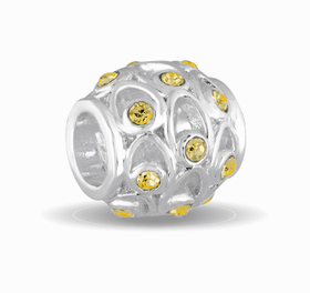 Davinci Beads November Crystal Orb Decorative