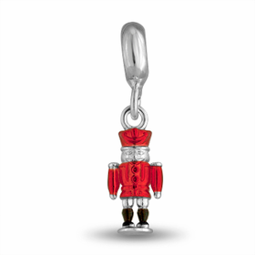 Davinci Beads Nutcracker Soldier Dangle