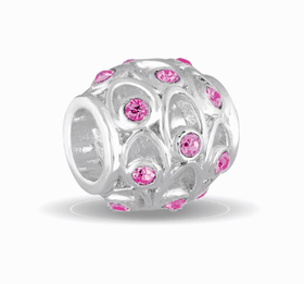 Davinci Beads October Crystal Orb Decorative
