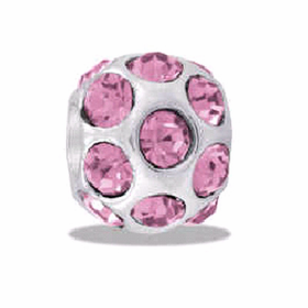 DAVINCI BEADS OCTOBER CZ BALL BIRTHSTONE