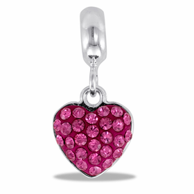 DAVINCI BEADS OCTOBER HEART