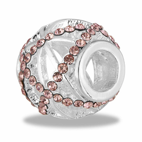 Davinci Beads pink CZ Decorative