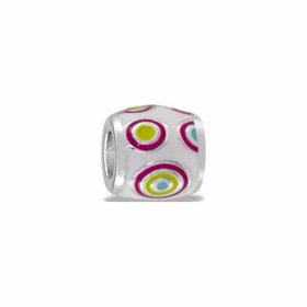 Davinci Beads Pink Yellow Blue