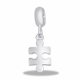 Davinci Beads Puzzle Piece Dangle