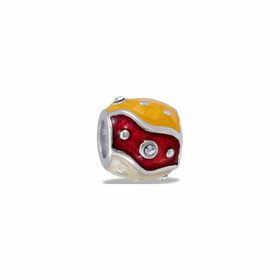 Davinci Beads Red and Gold