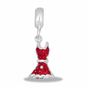 Davinci Beads Red Dress