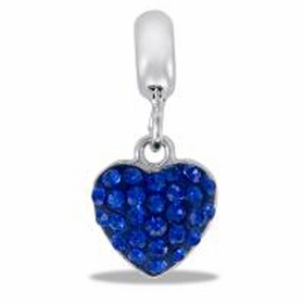 DAVINCI BEADS SEPTEMBER HEART