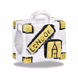 Davinci Beads Suitcase Two Tone