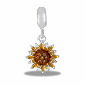 Davinci Beads Sunflower Dangle