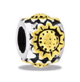 Davinci Beads Sunflower Two Tone