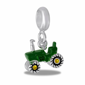 Davinci Beads Tractor Dangle