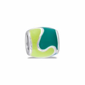 Davinci Beads Two Tone Green
