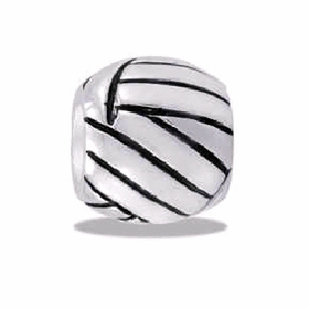 Davinci Beads Volleyball Silver