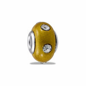 Davinci Beads Yellow CZ