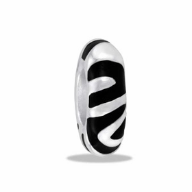 Davinci Beads Zebra Spacer