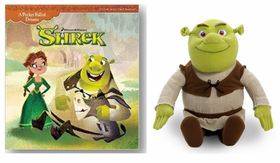 Dreamworks Shrek Book and Plush Combo