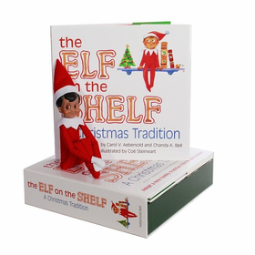 Elf On The Shelf Boy - Dark