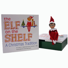 Elf On The Shelf Boy - Light