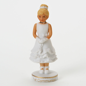 Growing up Girl Blonde 1st Communion