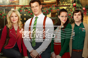 Hallmark Channel Signed, Sealed, Delivered for Christmas DVD