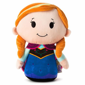 Hallmark Disney Itty Bitty Biggy Anna Plush