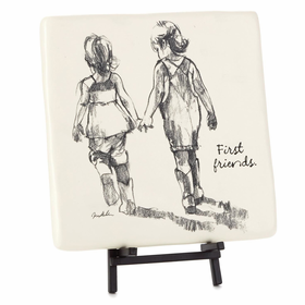 Hallmark Friends First Siblings Decorative Tile