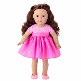 "Hallmark Madame Alexander 18"" Doll with Brunette Hair"