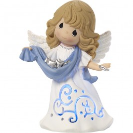 �Hark! The Herald Angels Sing� Musical Lighted Figurine, Resin