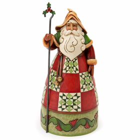 Heartwood Creek by Jim Shore Classic Santa with Cane