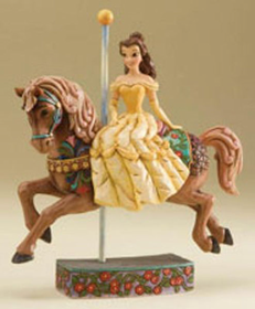 Heartwood Creek By Jim Shore Disney Traditions Belle Carousel Figurine