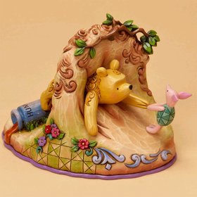 Heartwood Creek by Jim Shore Disney Traditions Classic Winnie the Pooh Stuck in Rabbit's Hole