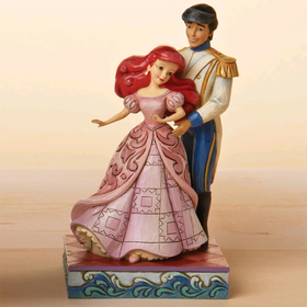 Heartwood Creek by Jim Shore Disney Traditions Little Mermaid Ariel and Prince Eric