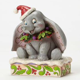 Heartwood Creek by Jim Shore Disney Traditions Sweet Snow Fall - Dumbo 75th Anniversary