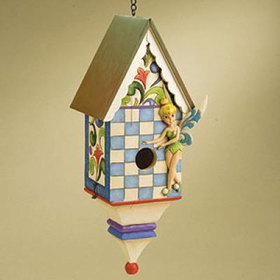Heartwood Creek By Jim Shore Disney Traditions Tinkerbell Birdhouse